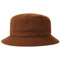 Hat BRIXTON - Burroughs Bucket Hat Coffee (COFFE)