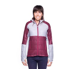 Jacket MAJESTY - Asgaard 2.0 Lady burgundy/grey (BURGUNDY-GREY)