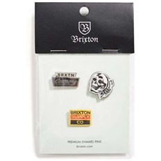 Badge BRIXTON - Luker Pin Pack Multi (MULTI)