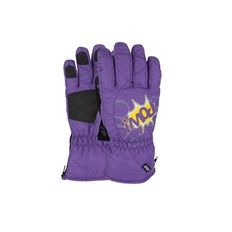 Gloves POW - Grom Glove Purple  (PU)