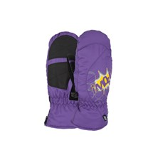 Gloves POW - Grom Mitt Purple  (PU)