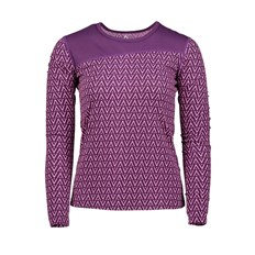 Thermo underwear CLWR - Shelter Top Grape Herringbone (322)