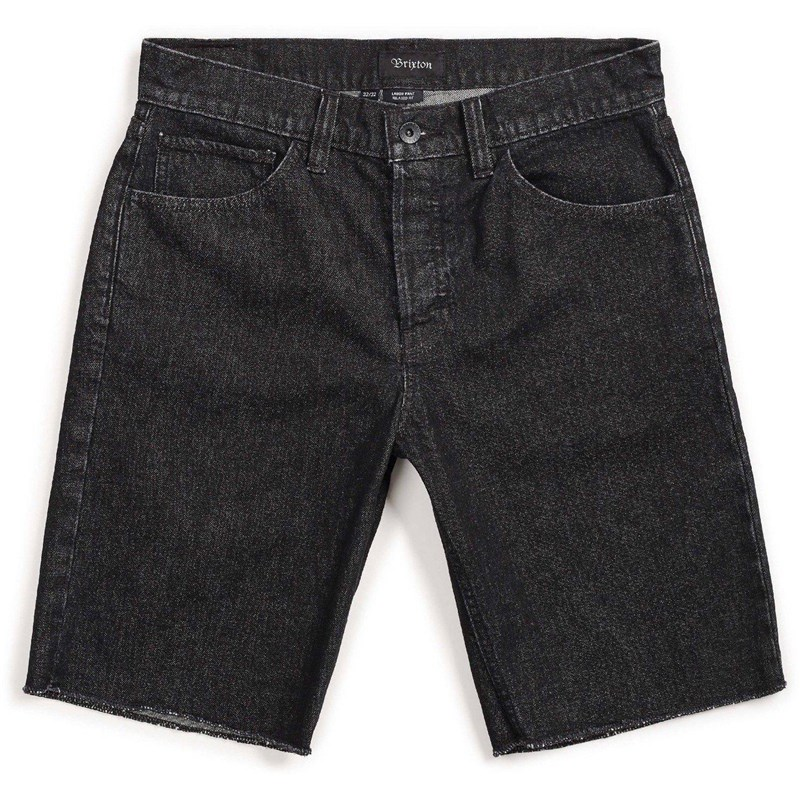 Shorts BRIXTON - Labor 5-Pkt Denim Short Black (BLACK)