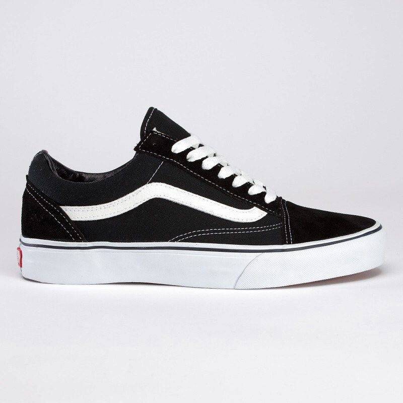 Schuhe VANS - Old Skool Black/White (Y28)