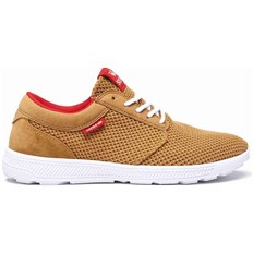 Schuhe SUPRA - Hammer Run Tan-Risk Red-White (289)