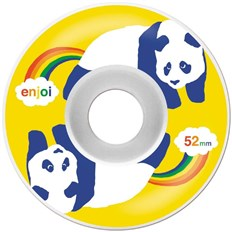 Rollen ENJOI - Rainbow Fart Wheel White/Yellow (WHT-YEL)