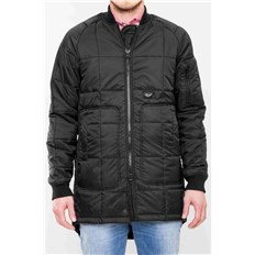 Mantel REELL - Flight Coat Black Black (Black )