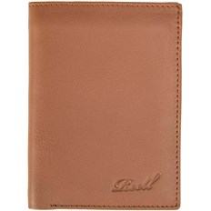 REELL - Trifold Leather Wallet Cognac (COGNAC)