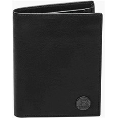 Geldtasche REELL - Canvas Leather Wallet Black (BLACK)