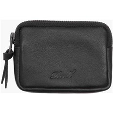 Geldtasche REELL - Pouch Leather Black (BLACK)