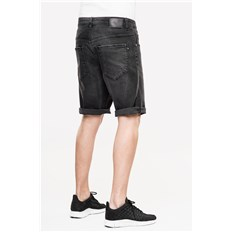 Shorts REELL - Rafter 2 Black Denim (BLACK DENIM)