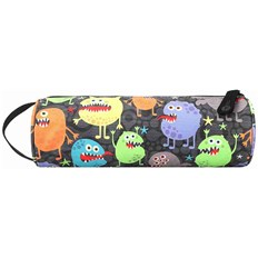 Mäppchen MI-PAC - Pencil Case Monsters Black (261)