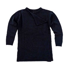 Pullover ICHI - Merci Knitted cardigan Total Eclipse (14044)