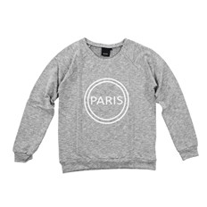 Sweatshirt ICHI - X Polly Sw2 Grey Melange (10020)
