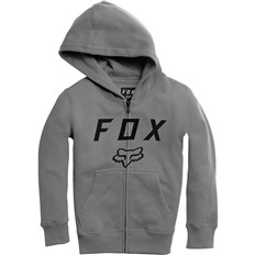 Sweatshirt FOX - Youth Legacy Moth Zip Fleece Heather Graphic (185)