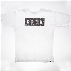 Tshirt KREW - Paisley Locker White (100)