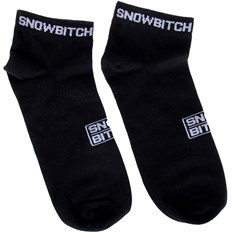 Socken SNOWBITCH - Snowbitch Socks Ankle Black (BLACK)