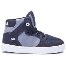 Schuhe SUPRA - Toddler Vaider Black/Dk Grey-White (094)