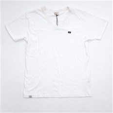 Tshirt K1X - DOUBLE IMPACT V NECK TEE WHITE/NAVY (1403)