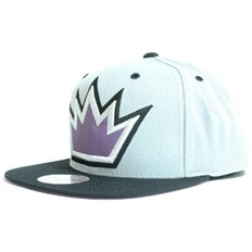 Kappe MITCHELL & NESS - The Fade 2 Tone Leather Los Angeles Kings (KINGS)