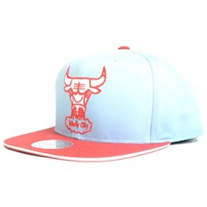 Kappe MITCHELL & NESS - The Fade 2 Tone Leather Chicago (BULLS)