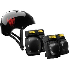 DARKSTAR - Helmet And Pad Pack Black (BLACK)
