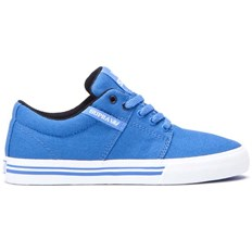 Schuhe SUPRA - Stacks Vulc Ii Blue-White (419)