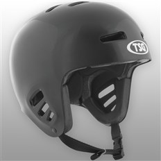 Helm TSG - dawn flex solid color black (145)