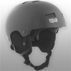 Helm TSG - arctic kraken solid color satin black (147)
