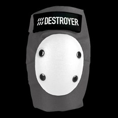 DESTROYER - Pro Elbow Grey/White (GRW)