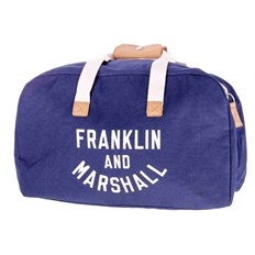 FRANKLIN & MARSHALL - Varsity weekender  - dark blue solid (25)