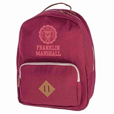 Rucksack FRANKLIN & MARSHALL - Classic backpack - bordeaux solid (30)