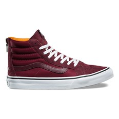 Schuhe VANS - Sk8-Hi Slim Zip (Boom Boom) Port Royale/True White (OC7)
