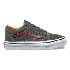 Schuhe VANS - Old Skool (Suede) Gunmetal/Madder Brown (OIR)