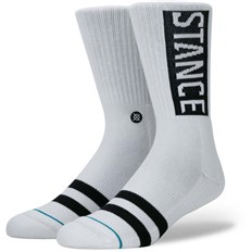Socken STANCE - All White White (WHITE)