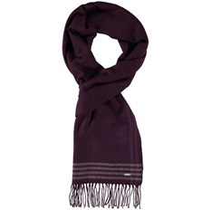 Schal BENCH - Woven Check Scarf Dark Burgundy (BU017)