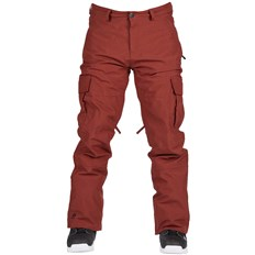 Hosen BONFIRE - Tactical Pant Burgundy (BUR)