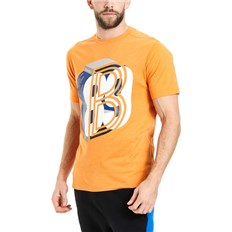 BENCH - Graphic Tee Flame Orange Marl (MA1056)