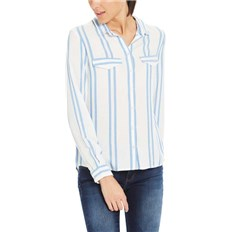 Hemd BENCH - Yd Striped Shirt Yd Stripe Palace Blue (P1090)