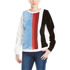 Hemd BENCH - Colourblock Shirt Snow White (WH11210)