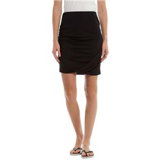 Röcke BENCH - Draped Jersey Skirt Black Beauty (BK11179)