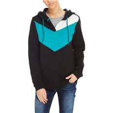 BENCH - Color Block Hoody Black Beauty (BK11179)