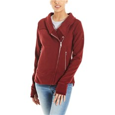BENCH - Her. Sweat Biker Funnel Cabernet (RD11343)