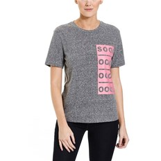BENCH - Badge T-Shirt Black Beauty Marl (MA1010)
