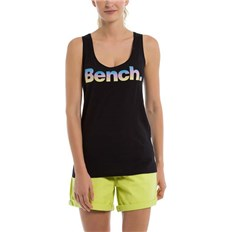 Leibchen BENCH - Corp Logo Tank Top Black Beauty (BK11179)