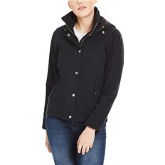 BENCH - Cotton Jacket With Quilted Hood Black Beauty (BK11179)