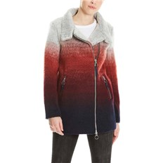 Jacke BENCH - Bonded Biker Coat Multicolour Stripe (P1171)