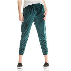 Hosen BENCH - Velvet Woven Pant Dark Green (GR163)