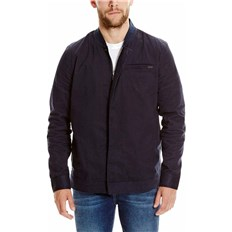 BENCH - Zip Detail Overshirt Dark Navy Blue (NY031)