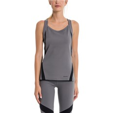 Leibchen BENCH - Active Tank Top Dark Grey As Swatch (GY11433)